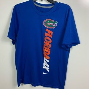 Nike dri fit Florida gators shirt men's small